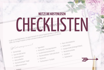 Planungshilfe: Checklisten