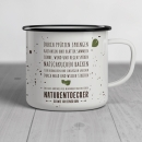Emaille-Tasse Naturentdecker